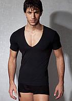 Мужская футболка DOREANSE черная, белая.