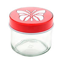 Банка Titiz Karcam Butterfly 0,3 л (KC-153-RD)_428438