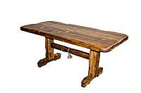 """Стіл""""Карпати"""" дерев'яний лакований під старовину"""