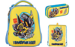 Набор школьный Kite(Рюкзак+сумка+пенал) Transformers TF17-531M