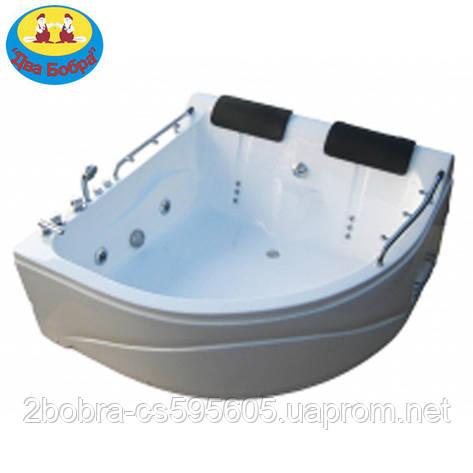 Гидромассажная Ванна Угловая KO&PO  007 | 150х150х68 см., фото 2