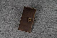 Кожаный кошелек ручной работы Frico | Винтажный Кофе, фото 1