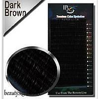 Ресницы I-Beauty (Ай-Бьюти) микс(20 лент), Чёрный шоколад,СC 0,07 8-14мм