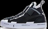 Женские кроссовки Puma Court Play x UEG - Black