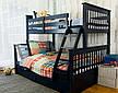 """Трансформер Двухярусная трехспальная кровать семейного типа """"Олигарх """"с ящиками и бортиками, фото 3"""