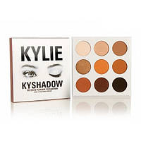 Профессиональная палетка теней Kylie Kyshadow 9 оттенков