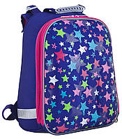 553385 Рюкзак для девочки каркасный H-12 Stars