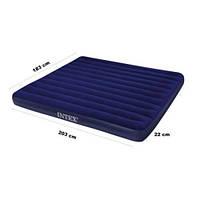 Двухспальный надувной матрас Intex 68755 203-183см