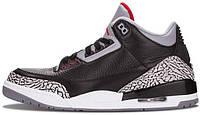 Мужские кроссовки Nike Air Jordan 3 Black Cement