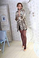 Шуба из меха  рыси Модель 200545