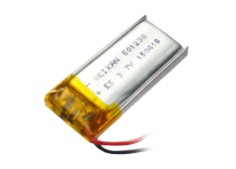 Аккумулятор литий-полимерный 3,7V 110mAh