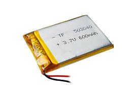 Аккумулятор литий-полимерный 3,7V 600mAh
