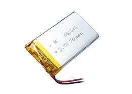 Аккумулятор литий-полимерный 3,7V 750mAh