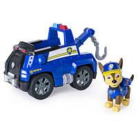 Paw Patrol Щенячий патруль Чейз из серии погоня с эскалатором тягачем Figure Chase with Chase's Tow Truck