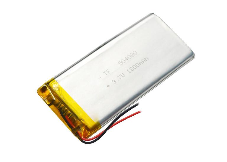 Аккумулятор литий-полимерный 3,7V 1800mAh