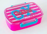 """705768 контейнер для еды  """"Oxford"""" розовый"""