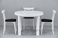 Кухонные стол Зевс и стулья  04м