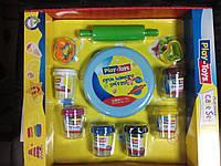 42263 Масса для лепки 6 цветов Play-Toys Turkey+ инструмент для лепки
