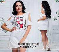 Платье ПЭ №6896 в расцветках