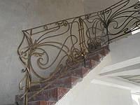 Кованые перила и лестницы Запорожья