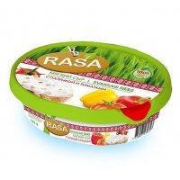 Мягкий сыр Rasa с паприкой и томатами 54%,180 г РМК Латвия