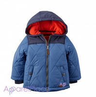 Carter's Куртка голубая Puffer Jacket на мальчика, 2-5