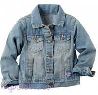 Carter's Куртка джинсовая на девочку