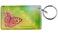 """Заготовка ключа для домофона RFID 5577, """"Бабочки"""", перезаписываемая"""
