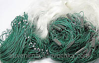 Рыболовная сеть 1.8х100м. Ячейка 25 Одностенка ( Дробинка ) для промышленного лова