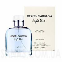 Dolce & Gabbana Light Blue Living Stromboli EDT 125ml TESTER (ORIGINAL)