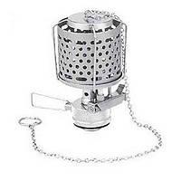 Лампа с пьезоподжигом и металлическим плафоном