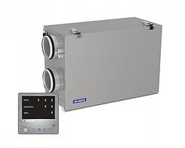 Приточно-вытяжная установка ВЕНТС ВУТ 300 Г мини ЕС Комфо, VENTS ВУТ 300 Г мини ЕС Комфо с рекуперацией тепла