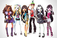Куклы Монстер Хай базовые Monster High basic