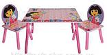 """Детский столик со стульчиками Dorlin Dora J 002-051 «Даша путешественница""""киев, фото 2"""