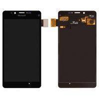 Дисплей для мобильного телефона Microsoft (Nokia) 950 Lumia Dual SIM, черный, с сенсорным экраном