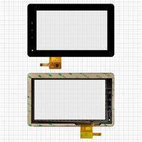 "Сенсорный экран для планшетов China-Tablet PC 7""; GoClever Tab A73; Flytouch C08S; Bmorn V11; Benton BT-M740; Benss B7; Fly IQ310; Texet TM-7025, 7"","