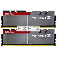 DDR-4 32GB KIT(2*16GB) PC4-25600 (PC4-3200) Trident Z RGB G.SKILL Original cert (F4-3200C15D-32GTZR)