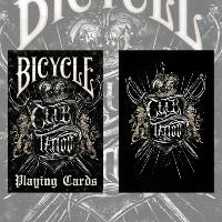 Карты игральные | Bicycle Club Tattoo