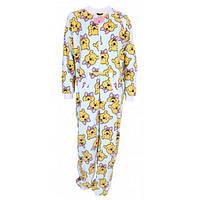 07-05 Голубая женская пижама New! - Jednoczęściowa piżama DISNEY - Kubuś Puchatek