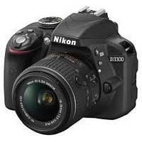 Фотоаппарат NIKON D3300+AF-P 18-55 KIT