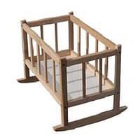 Кроватка для кукол БУК 171016 ТМ Дерево