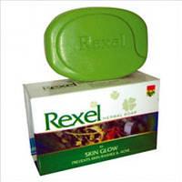 Мыло травяное Rexel против сыпи и прыщей 75г