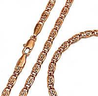 Набор: цепочка+браслет фирмы Xuрing.Позолота с крас. от.  Длина цепочки 49 см, ширина 3,5 мм.Браслет 19,5 см.