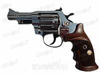 Револьвер флобера Альфа 431 (никель, дерево)