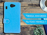 Чехол книжка для Fly FS451 Nimbus 1