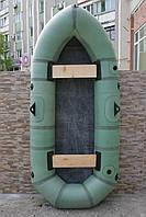 Лодка резиновая надувная двухместная Дельфин