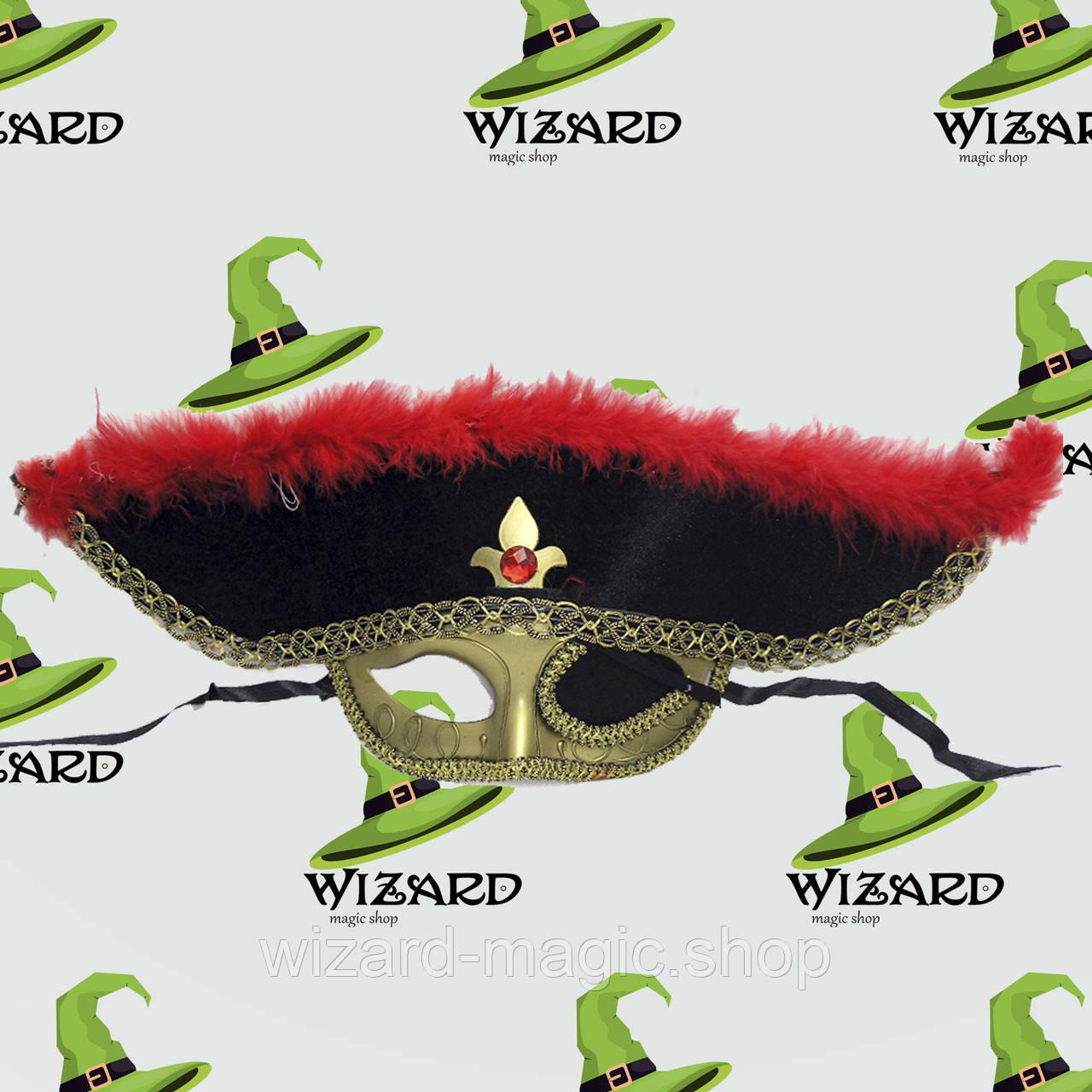 Маска шляпа Пиратская