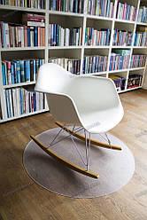 Ковер под кресло защитный прозрачный Master круг 90см Германия Толщина 1.7мм