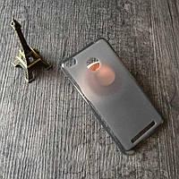 Чехол на Xiaomi Redmi 3 Pro / Redmi 3s силиконовый бампер серый