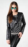 Куртка- косуха из эко-кожи